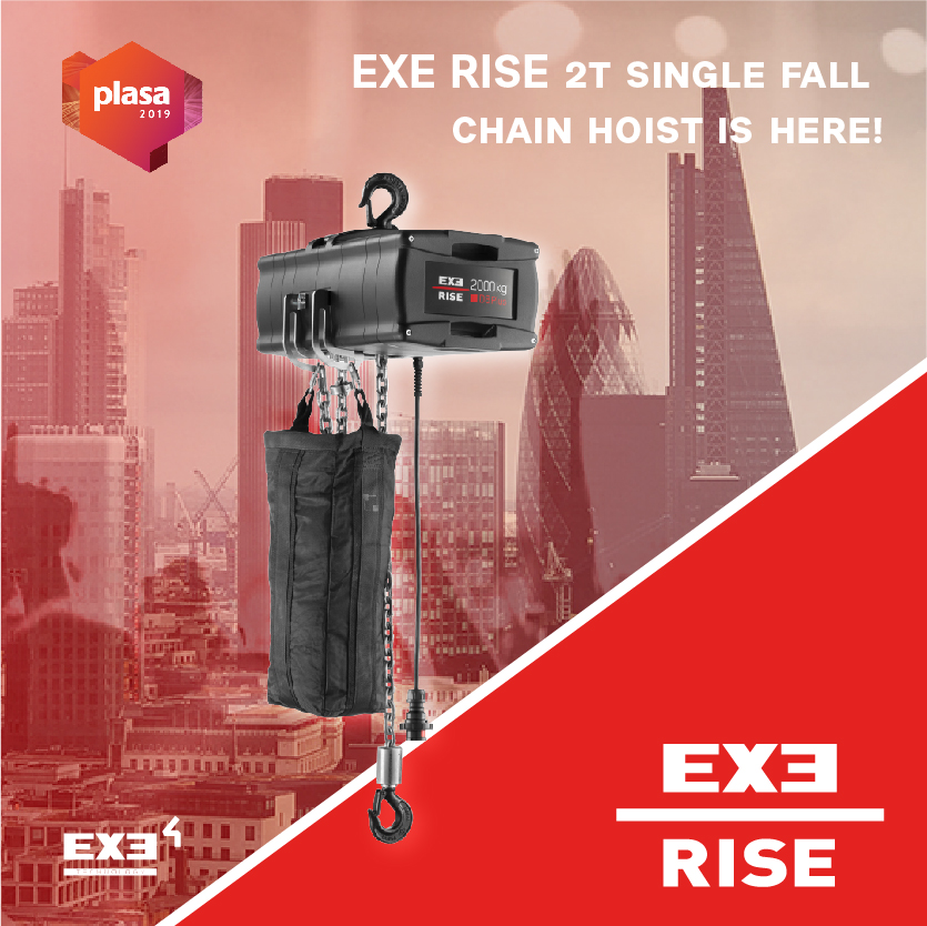 EXE RISE 2 TON SINGLE FALL IS HERE